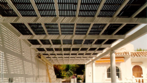 solar-rapid em pergola-aquecimento de piscinas 2019